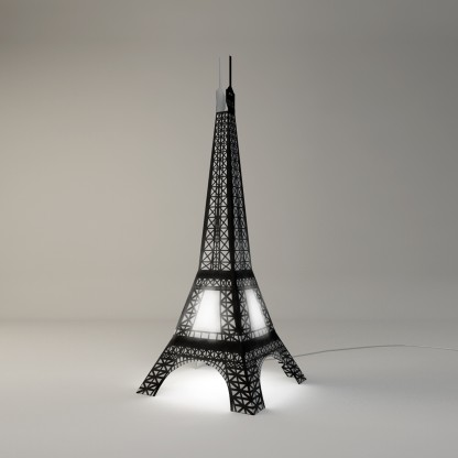 eiffel tower floor lamp photo - 9