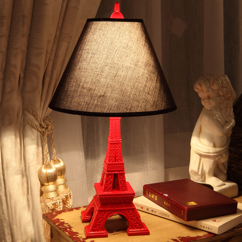 eiffel tower table lamp photo - 2