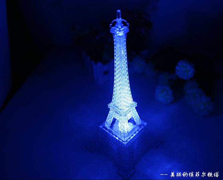 eiffel tower table lamp photo - 9