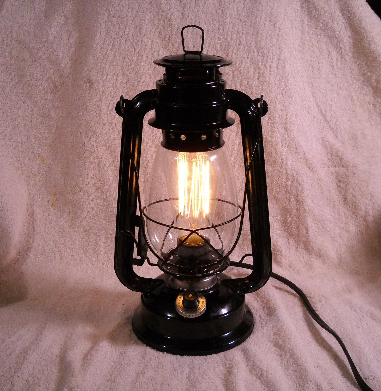 electric lantern table lamp photo - 6