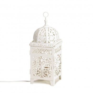 electric lantern table lamp photo - 7