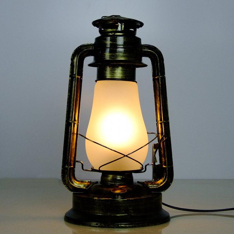 electric lantern table lamp photo - 8