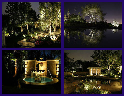 electric outdoor lights photo - 1