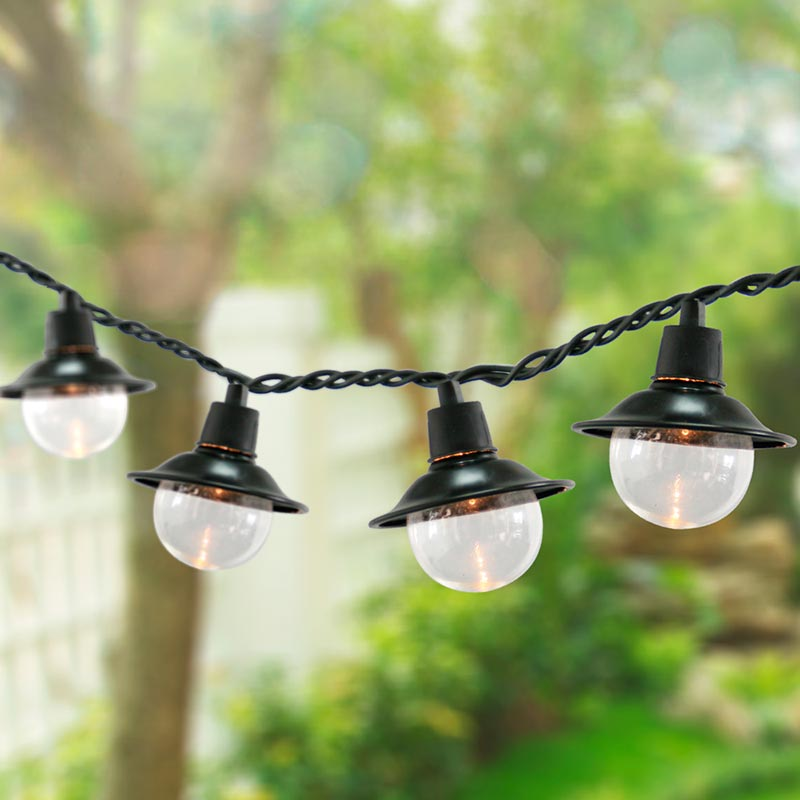 electric outdoor lights photo - 3