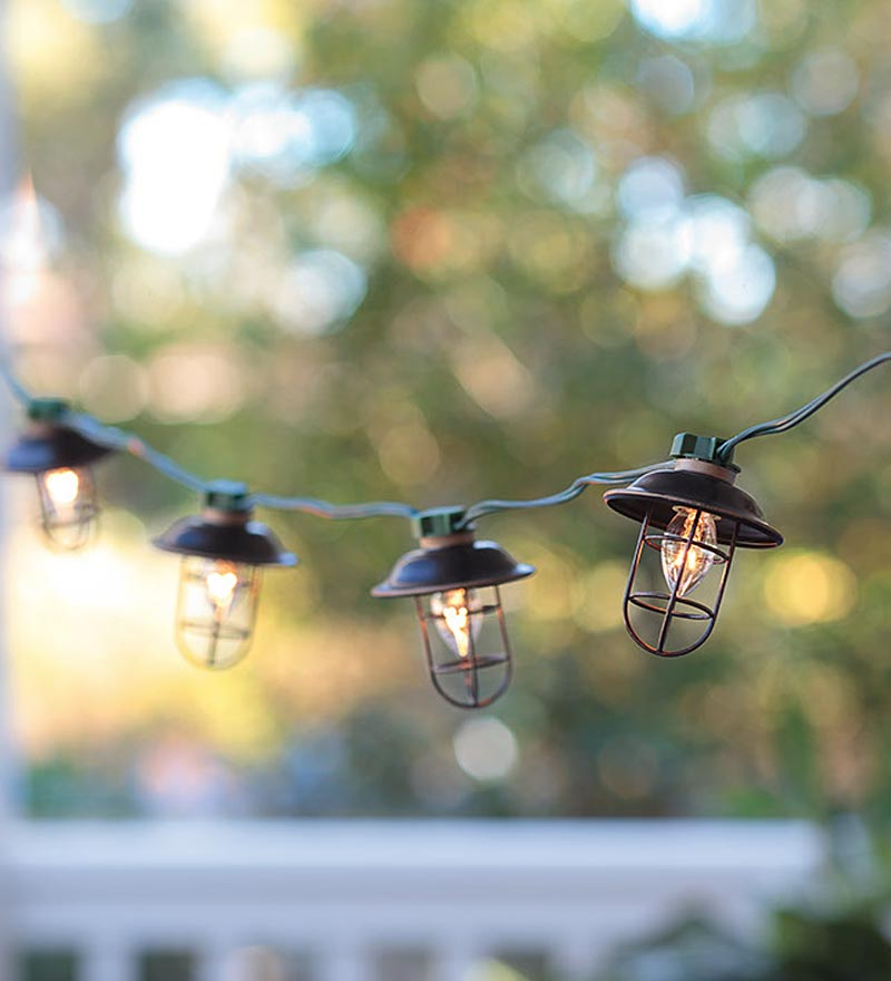 electric outdoor lights photo - 4
