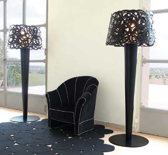 elegant floor lamps photo - 5