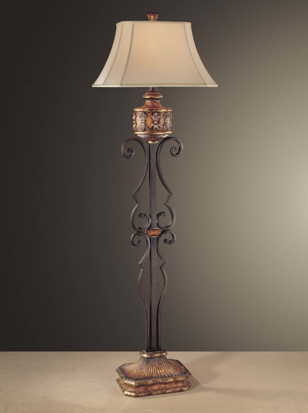 elegant floor lamps photo - 6