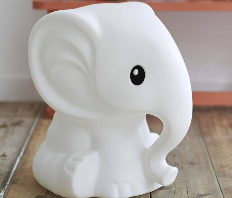 elephant lamp for nursery photo - 3
