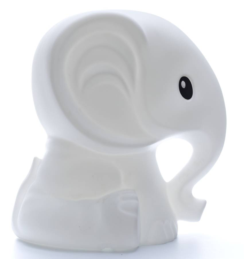 elephant lamp for nursery photo - 4