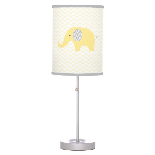 elephant lamp for nursery photo - 5