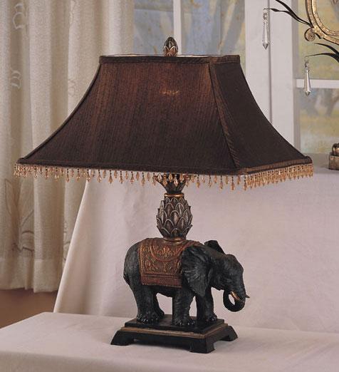 elephant lamps photo - 2