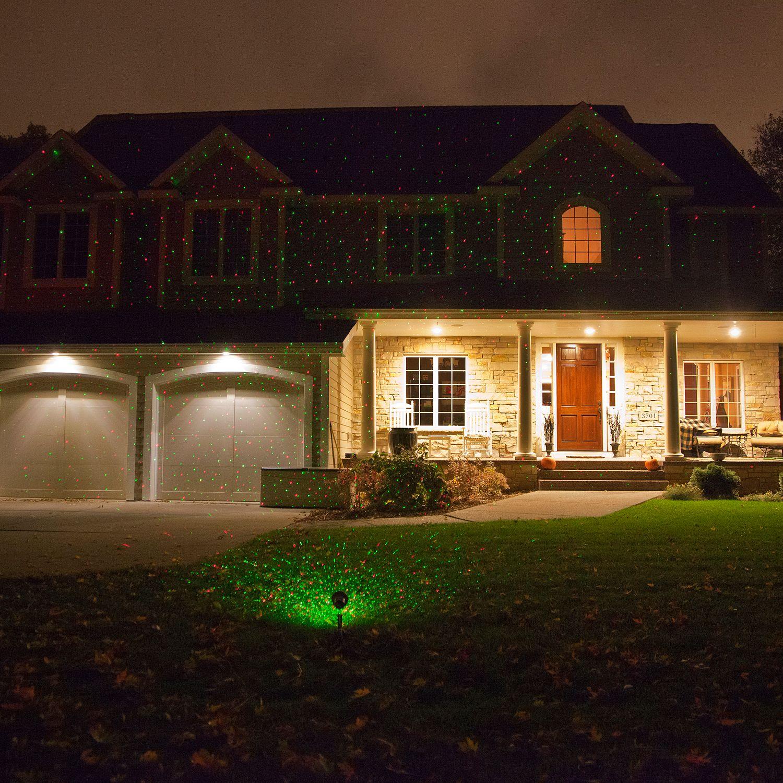 elf light indoor outdoor laser light photo - 1