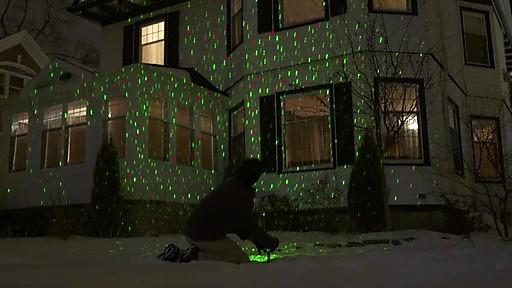 elf light indoor outdoor laser light photo - 4