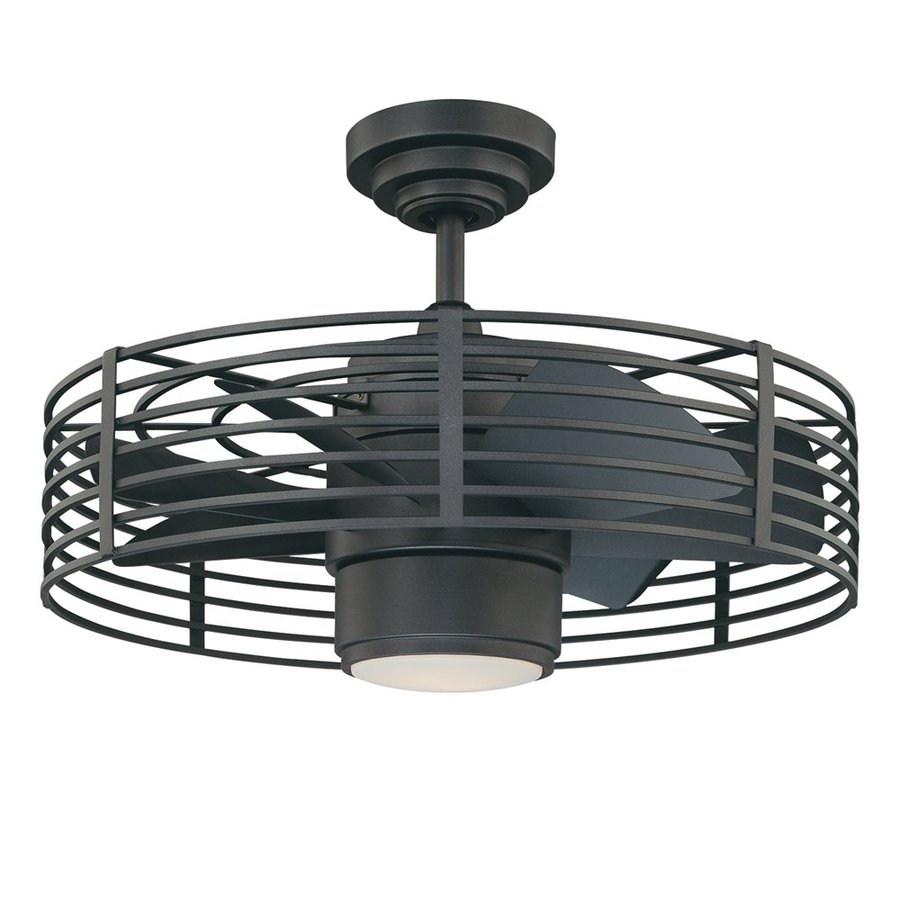 enclosed blade ceiling fans photo - 2