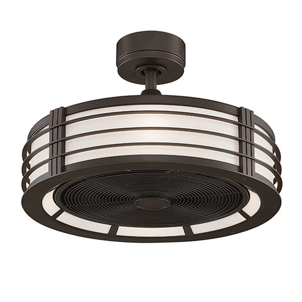 enclosed blade ceiling fans photo - 5