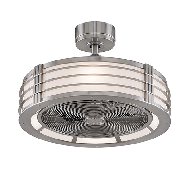 enclosed blade ceiling fans photo - 6