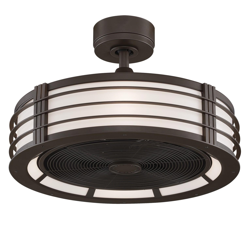 enclosed ceiling fan photo - 5