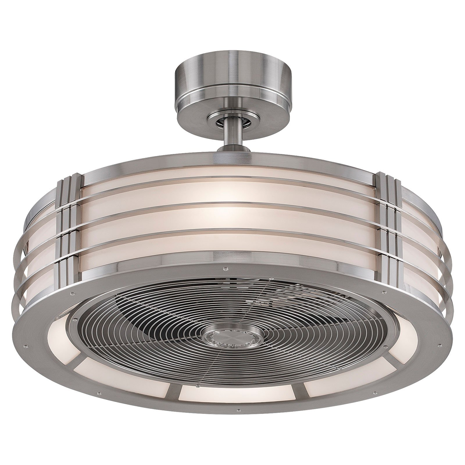 enclosed ceiling fan photo - 6