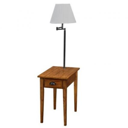 end table with lamp attached table idea. Black Bedroom Furniture Sets. Home Design Ideas