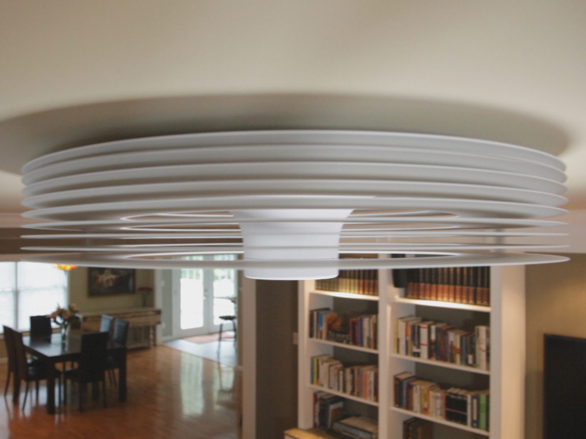 exhale bladeless ceiling fan photo - 7
