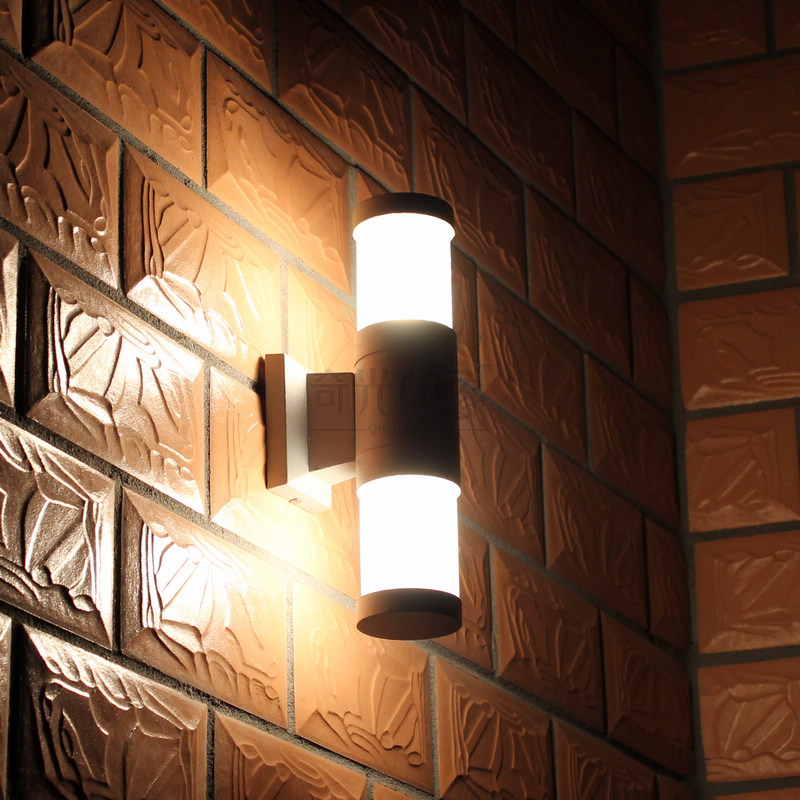 Exterior Wall Lighting #37: Exterior Led Wall Lights Photo - 7