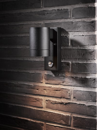 exterior sensor wall light photo - 6