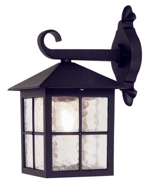 exterior wall lantern lights photo - 3