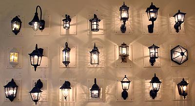 exterior wall lights photo - 8