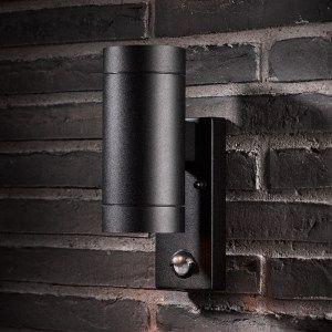 exterior wall lights with sensor photo - 10