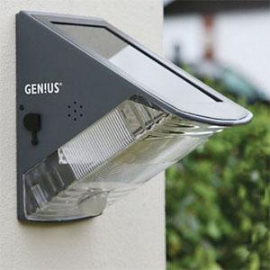 exterior wall lights with sensor photo - 5
