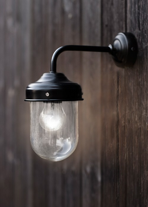 exterior wall mounted lights photo - 8