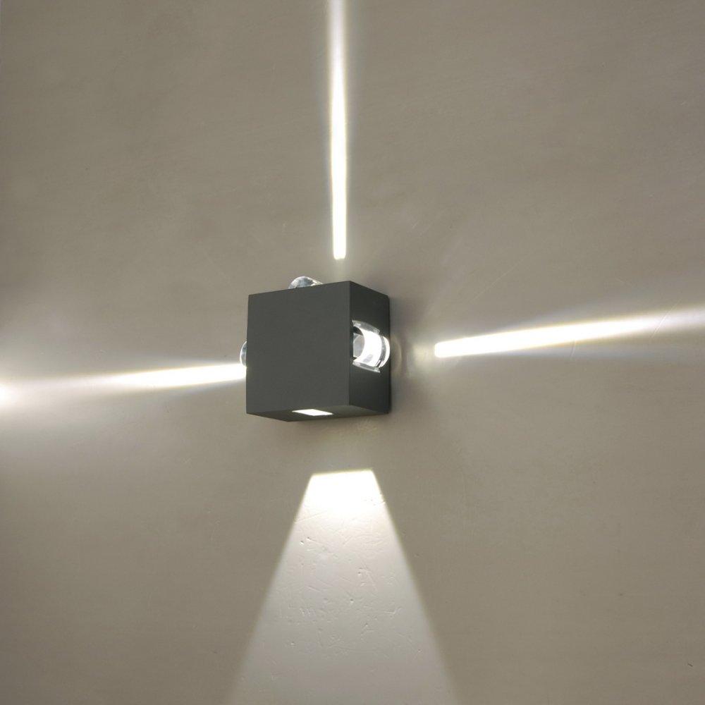 External led wall lights - 10 Stylish Ways to Decorate ... on Led Wall id=14821