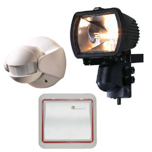 external wall lights with pir photo - 10