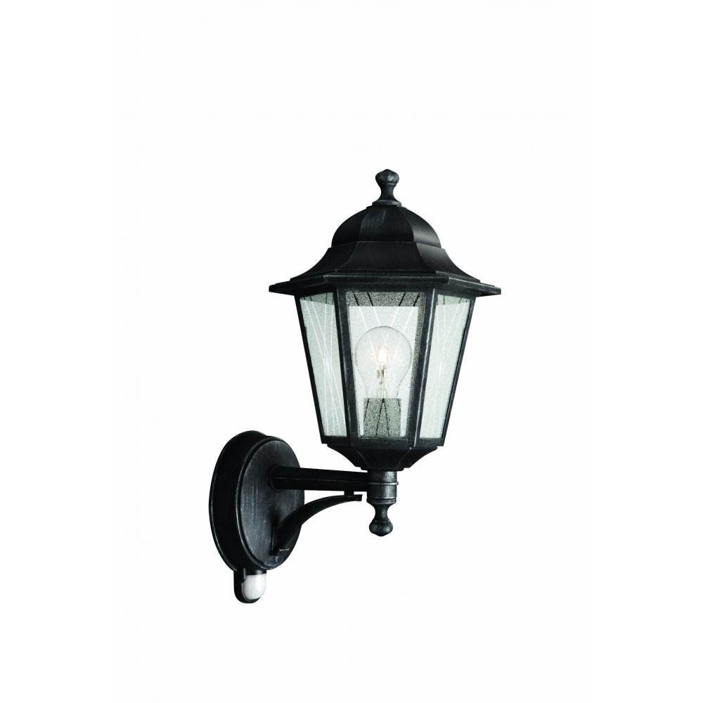 external wall lights with pir photo - 6