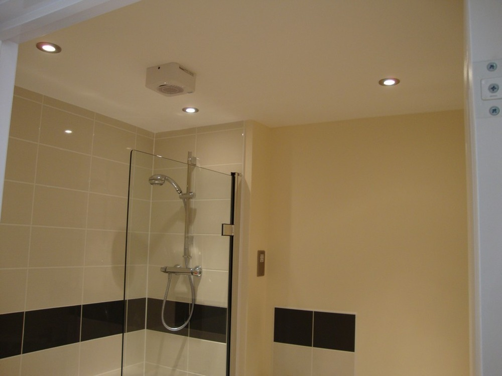 extractor fan bathroom ceiling mounted photo - 5