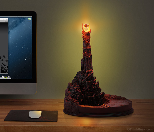 eye of sauron desk lamp photo - 1