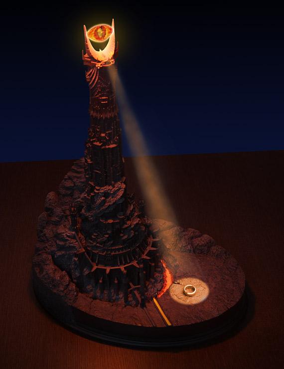 eye of sauron desk lamp photo - 2