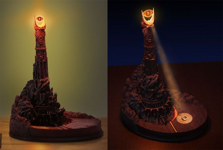 10 facts about Eye of sauron desk lamp | Warisan Lighting