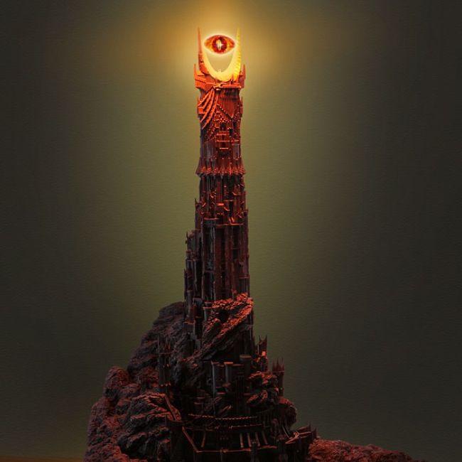eye of sauron desk lamp photo - 9