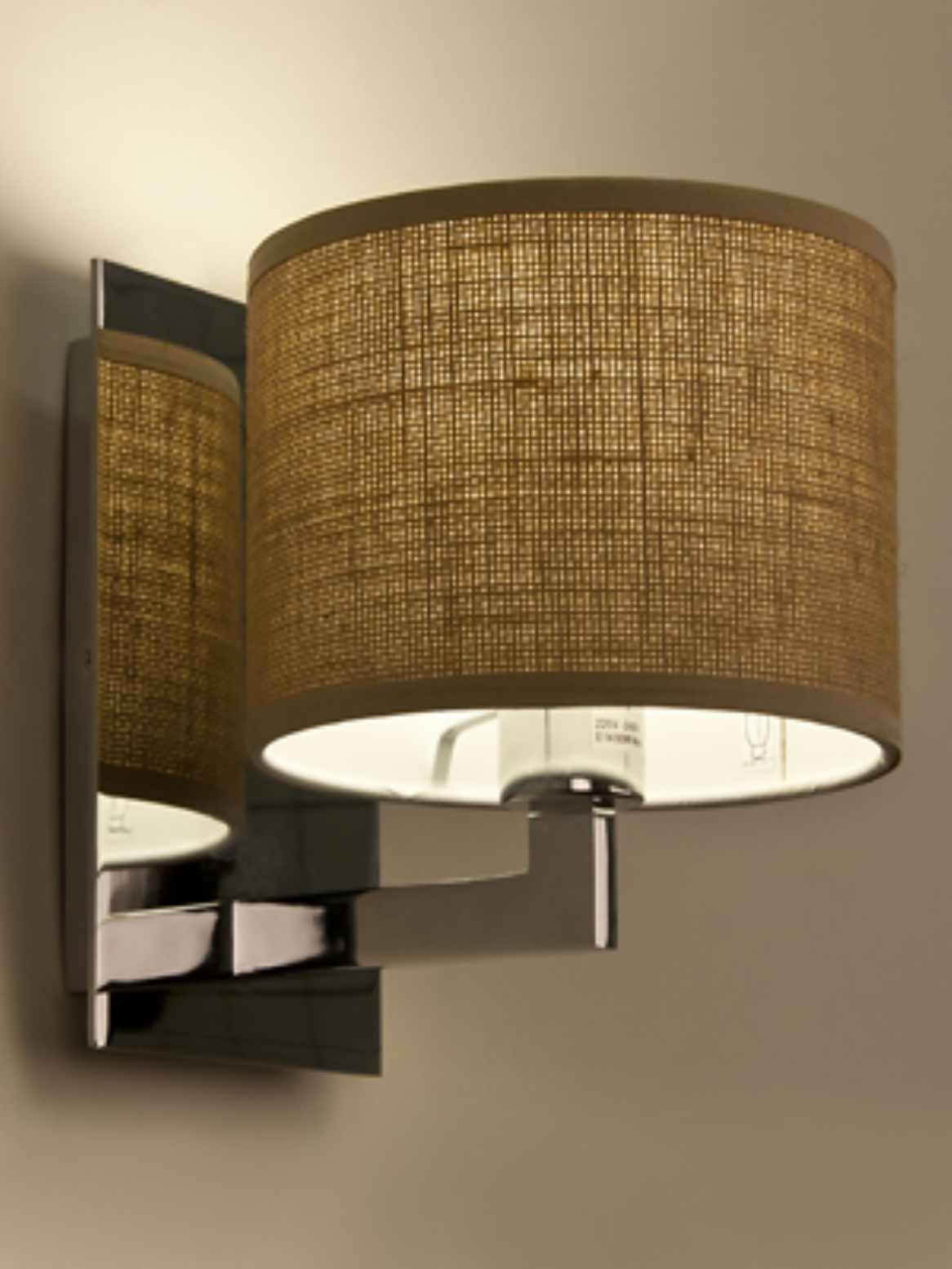 fabric wall light shades photo - 2