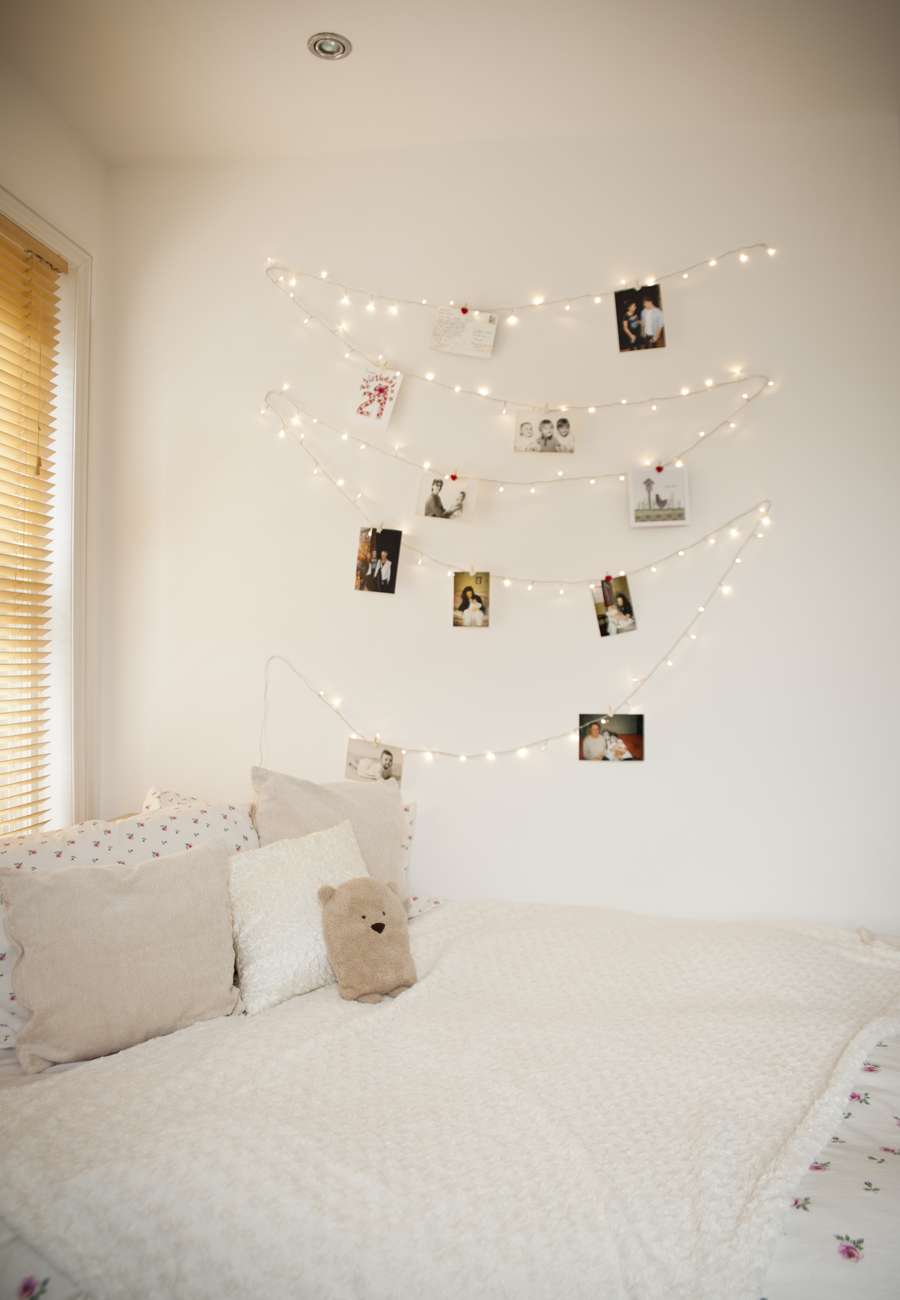 Amazing ways to brighten up your home with fairy lights on for Lights for your room