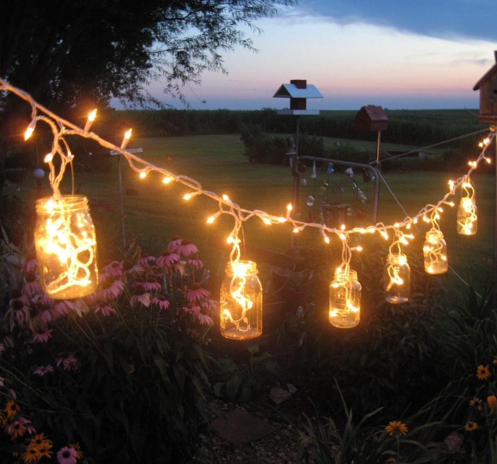 fairy lights outdoor photo - 1