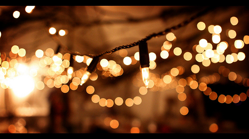 fairy lights outdoor photo - 10