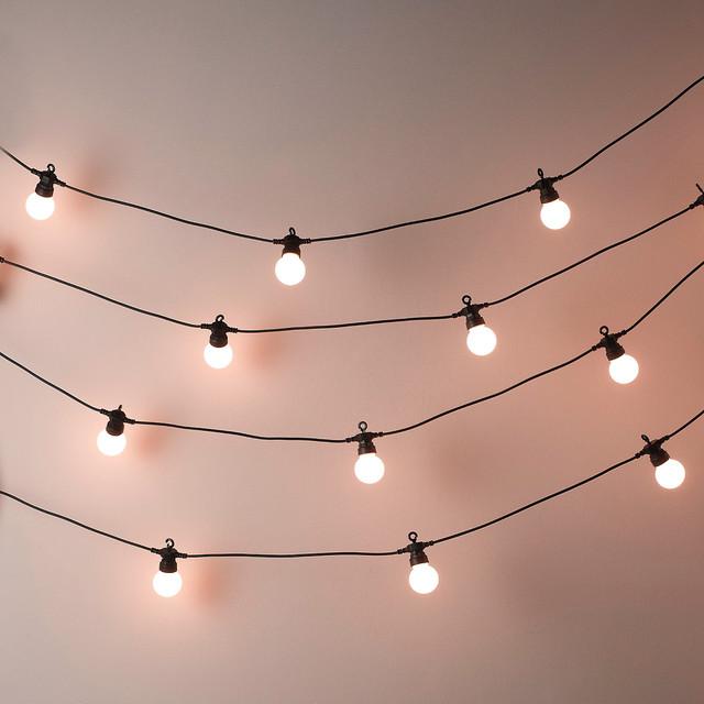 fairy lights outdoor photo - 3