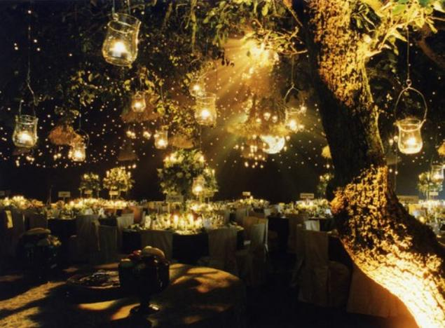 fairy lights outdoor photo - 6