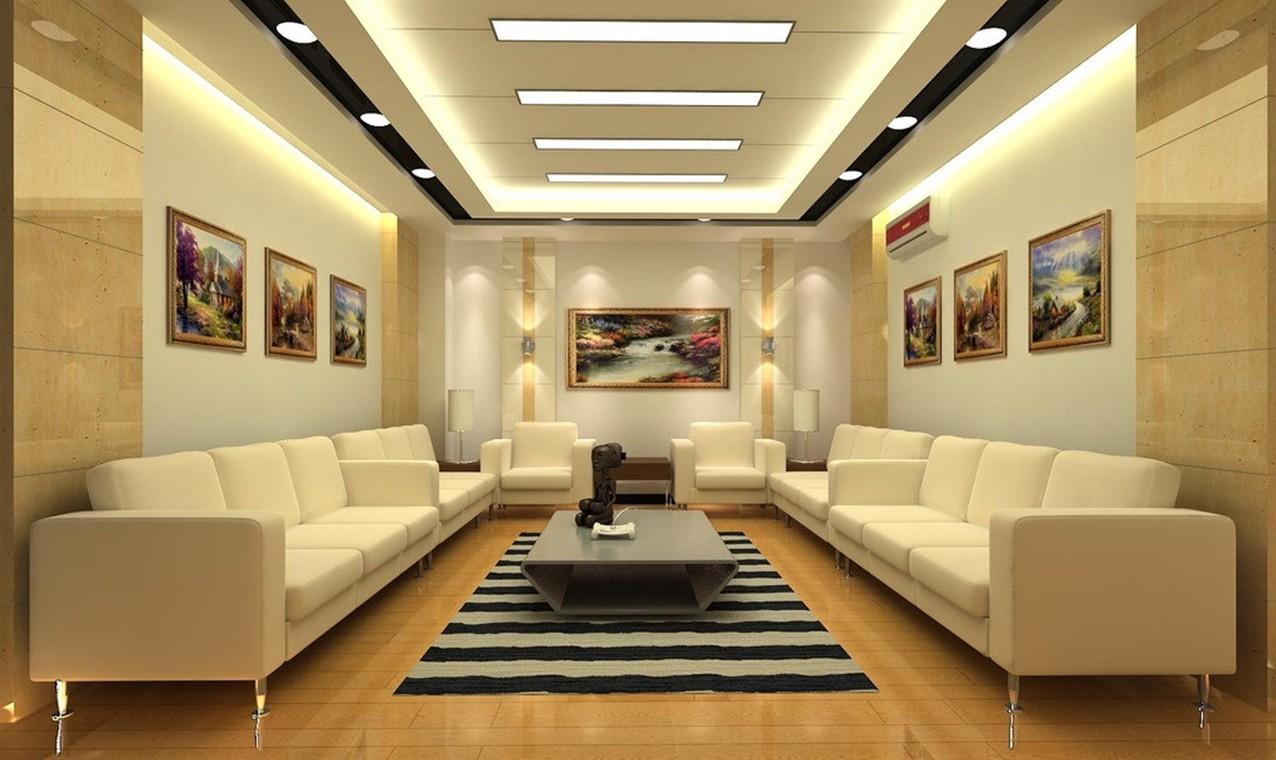 false ceiling lights photo - 1