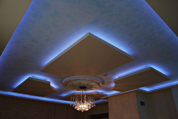 feature ceiling lights photo - 4