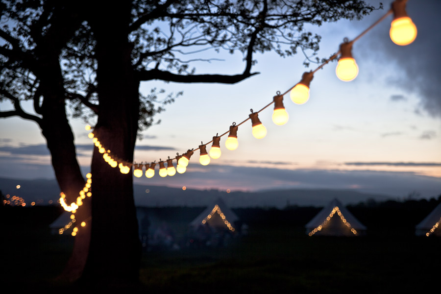festoon lights outdoor photo - 2