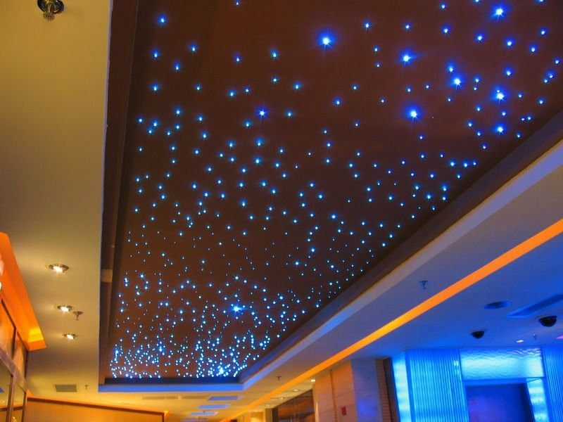 fiber optic ceiling light photo - 1