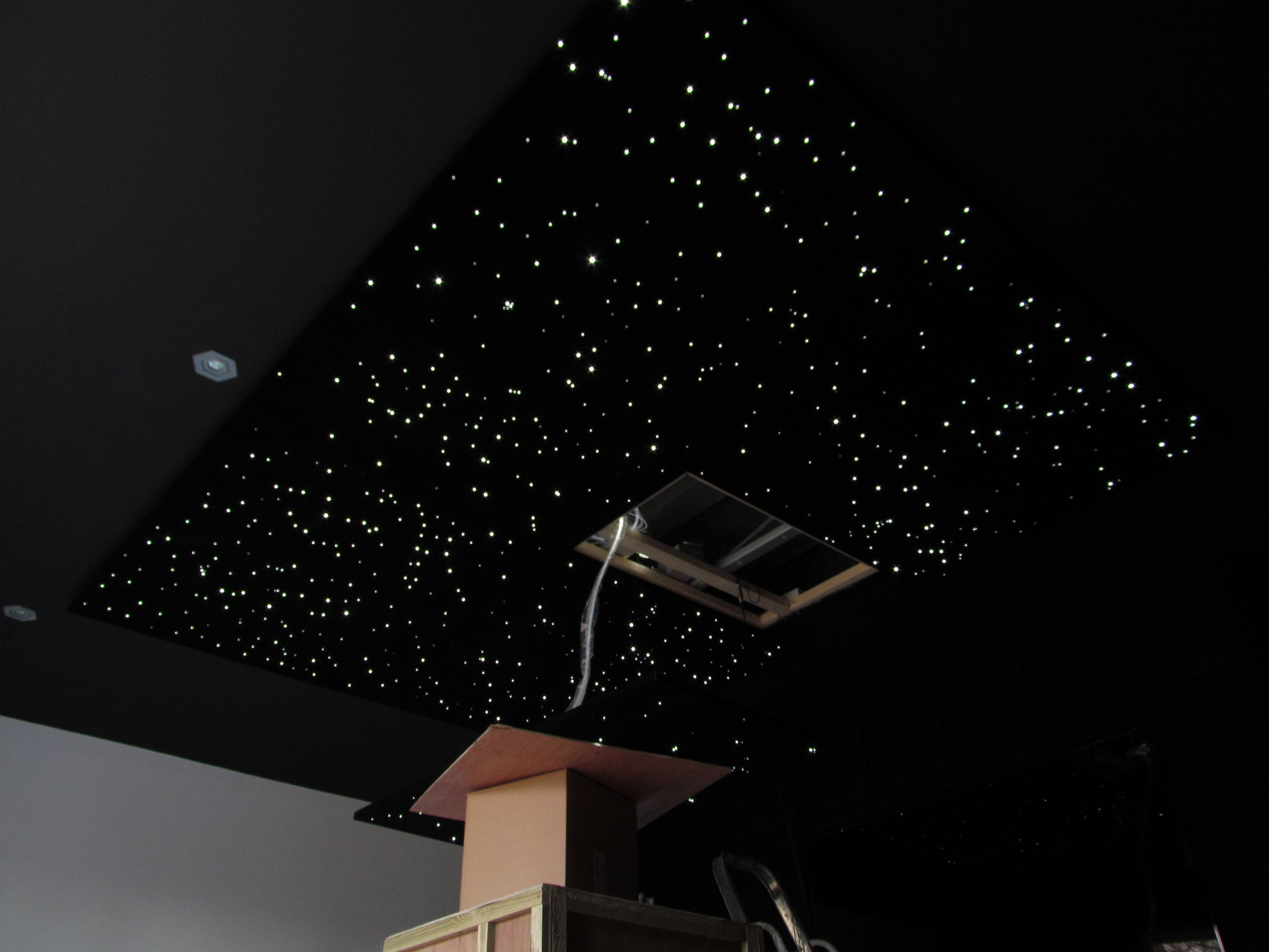 fibre optic ceiling lights photo - 9